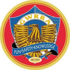 Gold Wing Road Riders Association. Red Griff image. Fun, Safety, Knowledge. Established 1977.